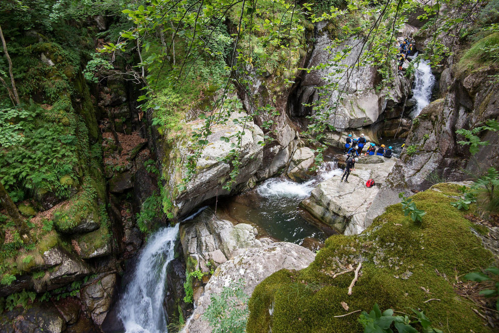 Canyoning dans le Tapoul